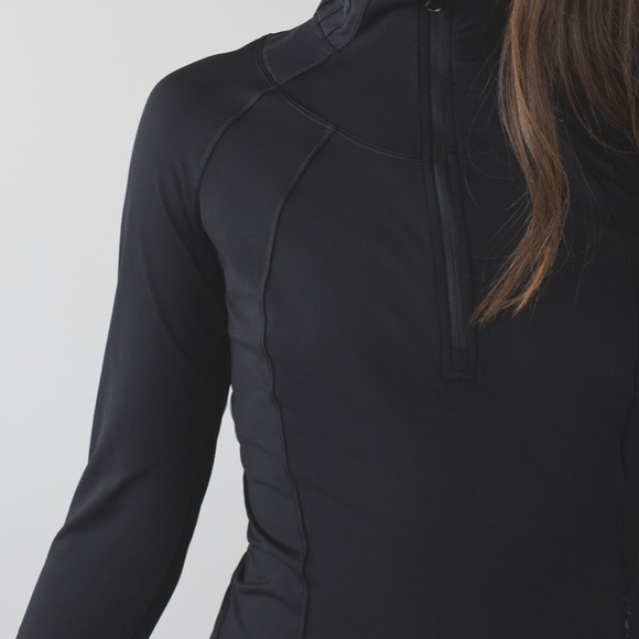 Lululemon black half zip pullover